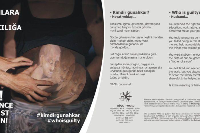 Kimdir günahkar/Həyat yoldaşı-KAMPANİYA