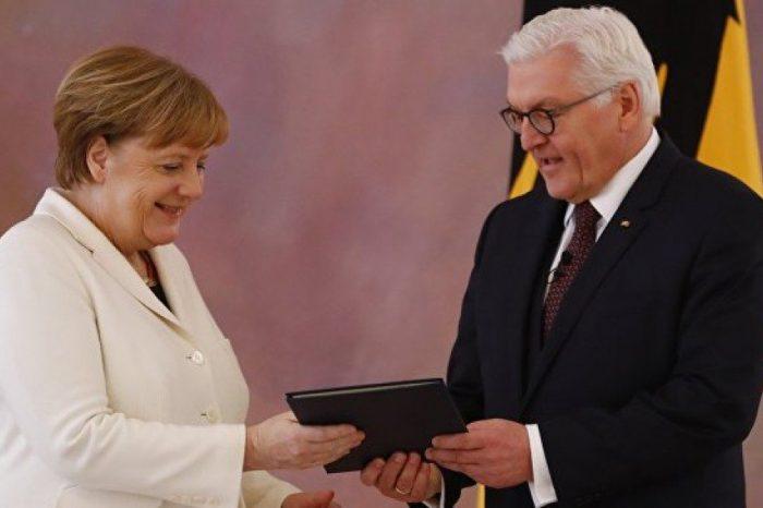 Angela Merkelin federal kansler postunatəyinatı təsdiqlənib