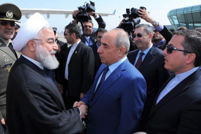 İran prezidentinin Azərbaycana rəsmi səfəri başlayıb