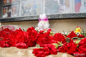 Kemerovoda yanğın zamanı ölənlərin xatirəsi Bakıda anılır - FOTO