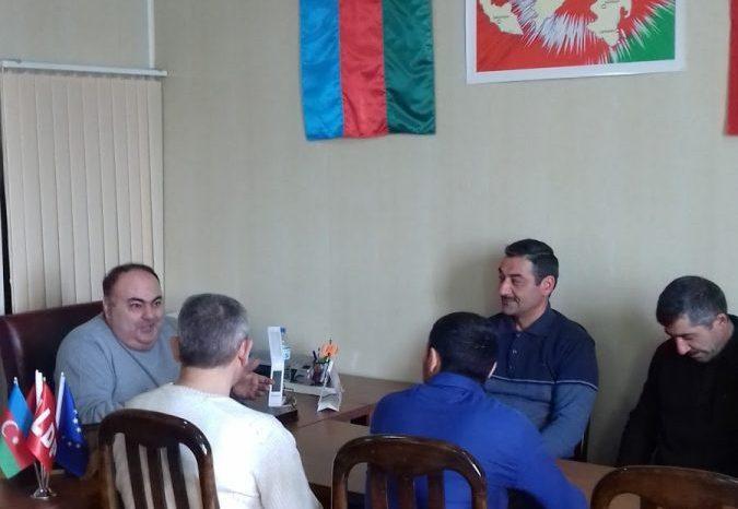 Fuad Əliyev imzatoplama kampaniyasını başa vurdu