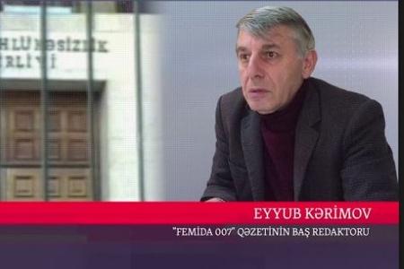 """""""Femida"""" qəzetinin baş redaktoru Eyyub Kərim dəm qazından boğularaq ölüb"""