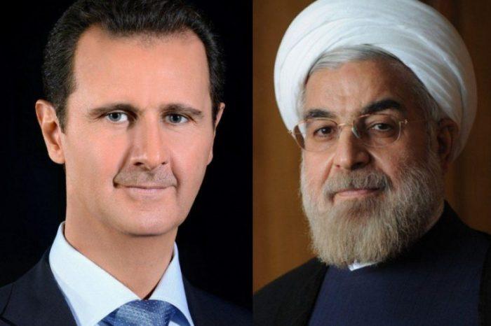 İran və Suriya prezidentləri arasında telefon danışığı olub