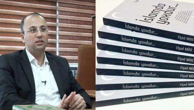 Elşad Mirinin qadağan olunan kitabı Türkiyədə çapdan çıxdı - FOTOLAR