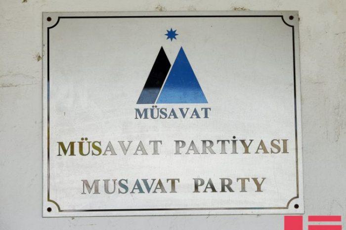 Müsavat Partiyası müstəqil vəkillərin fəaliyyətinin dayandırılmasını pisləyir