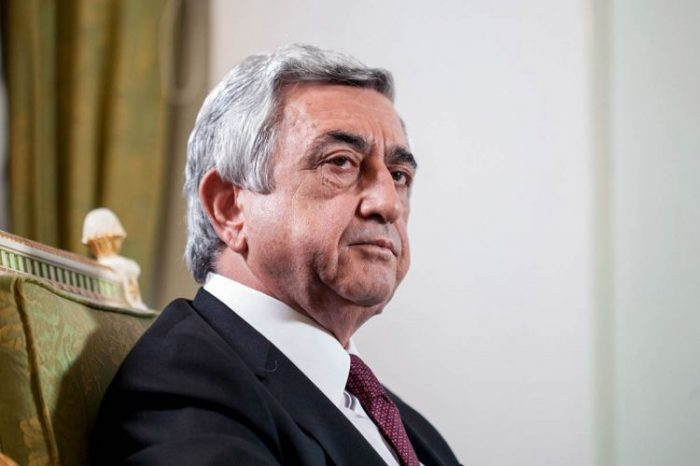 Serj Sarkisyan istefaya gedib - YENİLƏNİB