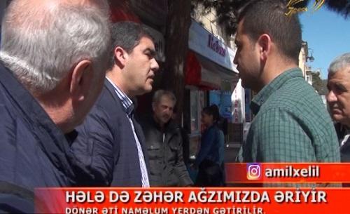 """""""Space"""" TV-nin əməkdaşlarına hücum oldu –Kamera qırıldı + VİDEO"""