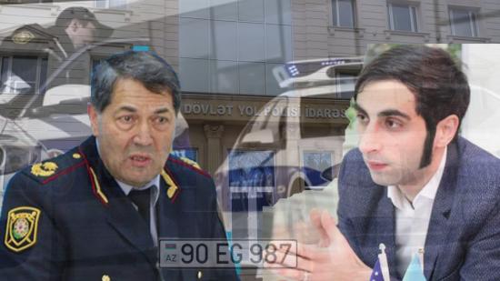 DYP jurnalistə oğurluq nömrə satdı - FOTO