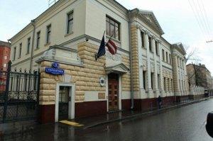 Latviyanın Moskvadakı səfirliyinə hücum olub