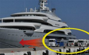 Oliqarxın yaxtası Quşadasında yanacaq doldurur: 23 tanker, yarım milyon dollar...