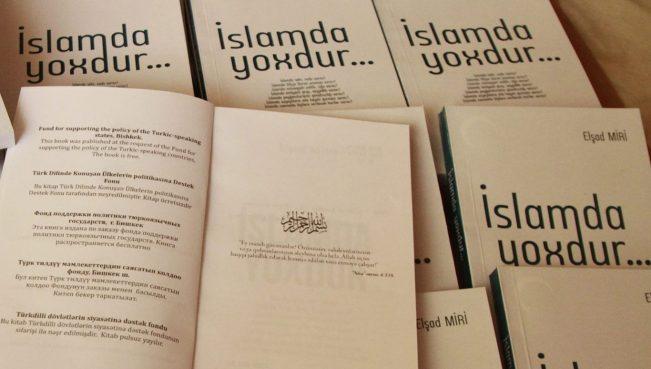 """Elşad Mirinin """"İslamda yoxdur..."""" kitabı daha bir ölkədə- Qırğızıstanda çap olundu- FOTOLAR"""