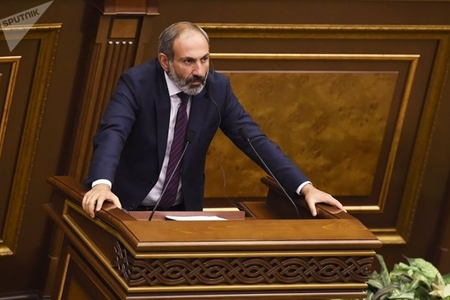 Paşinyan Ermənistanın baş naziri seçildi