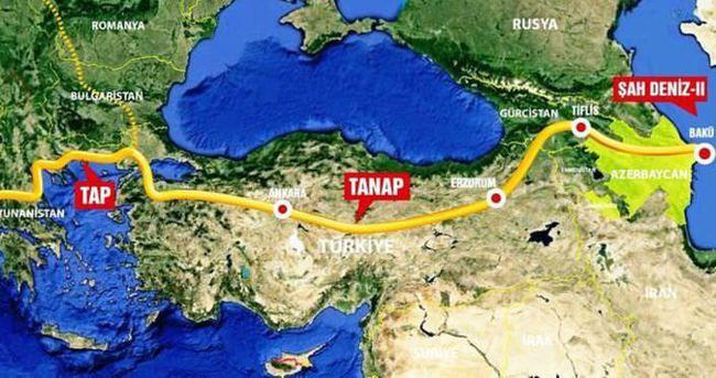 Türkiyədə TANAP-ın açılışı olub - YENİLƏNİB