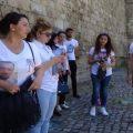 Siyasi mәhbus ailәlәri gәzintiyә çıxdı, polis onları saxladı (Video)