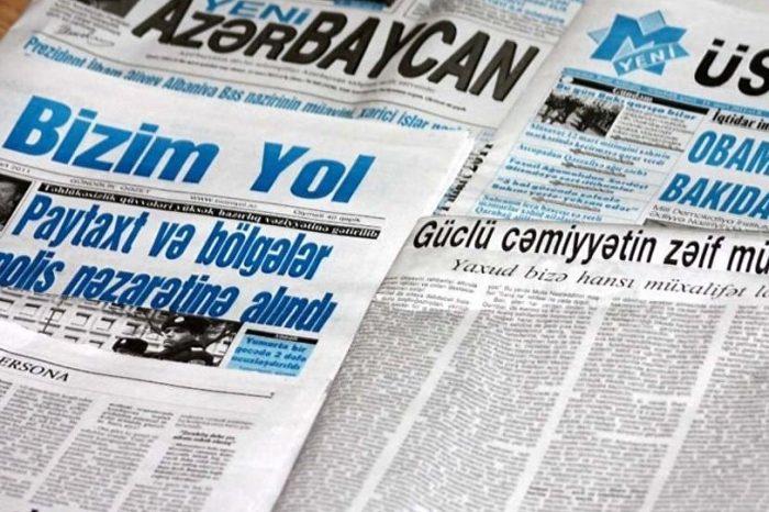 KİVDF yenə oxunmayan qəzetlərə 1.234.000 manat pul ayırdı-SİYAHI